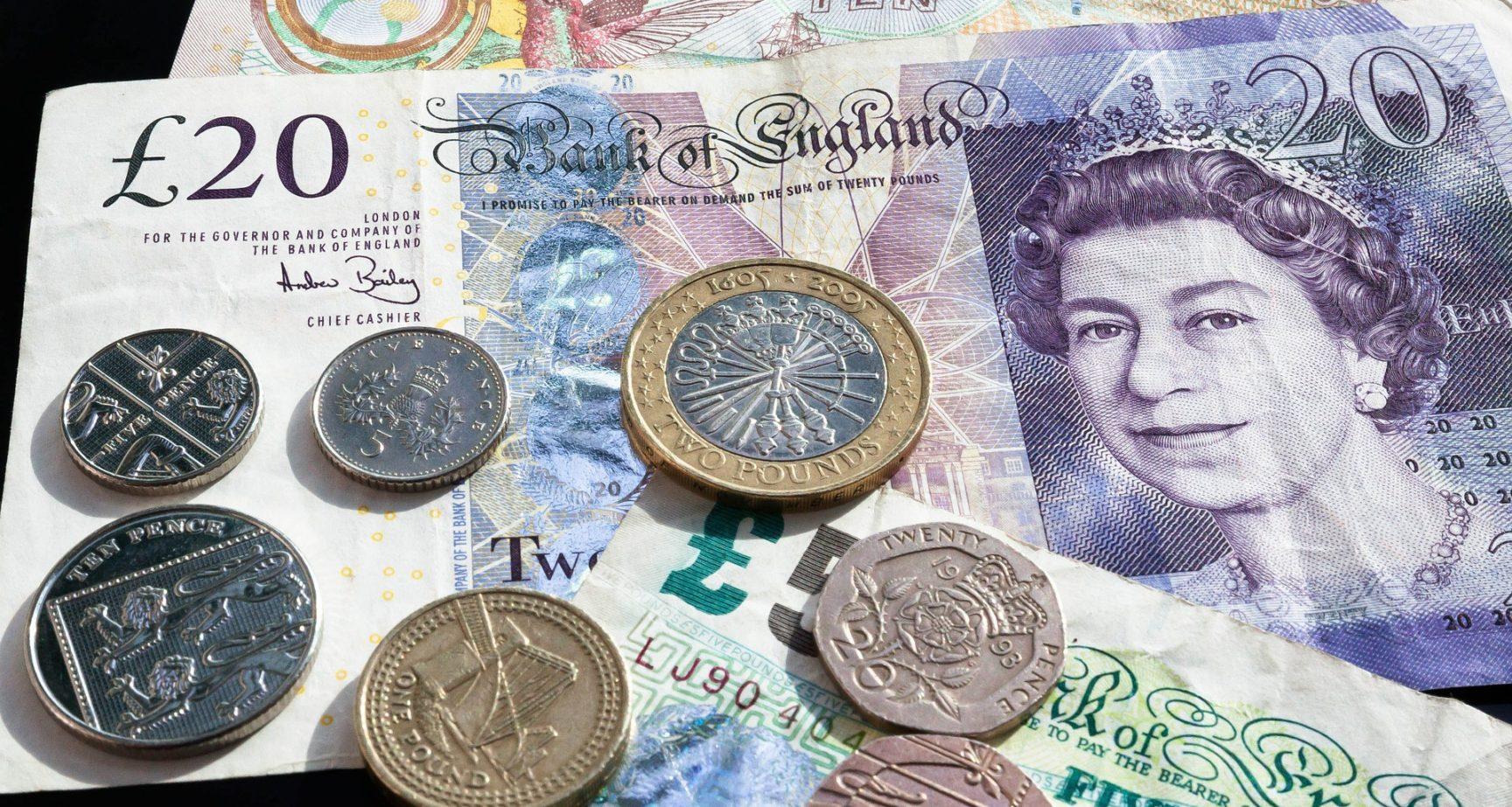 Die neue £5 Plastik-Banknote